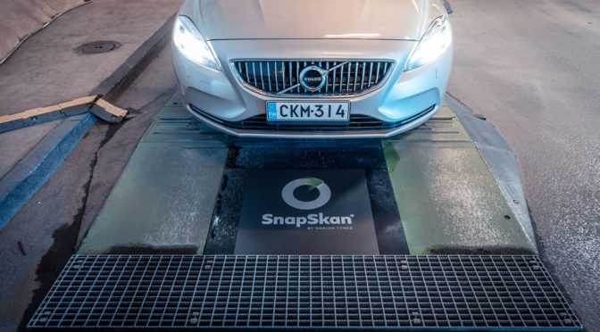 SnapSkan Digitally Checks Your Car's Tires So You Don't Have To