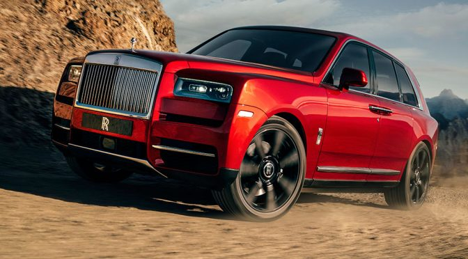 Rolls-Royce Cullinan Luxury Off-Road SUV