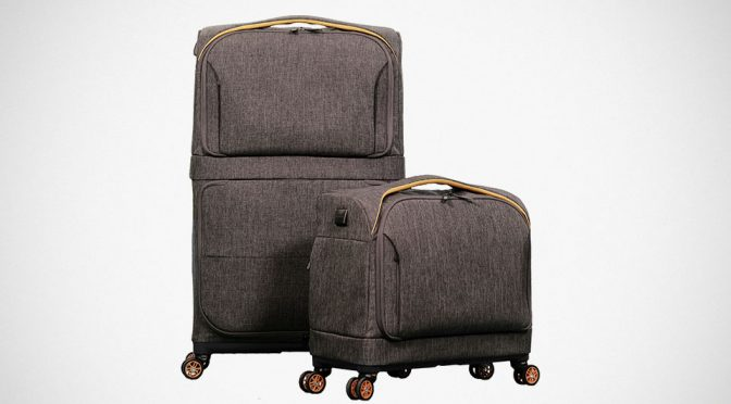 Rollux Is A Carry-on And A Full-size Suitcase Rolled Into One