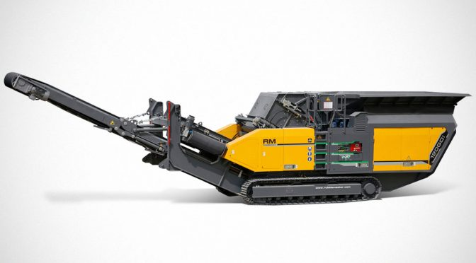 Rubble Master RM 120GO! Mobile Impact Crusher