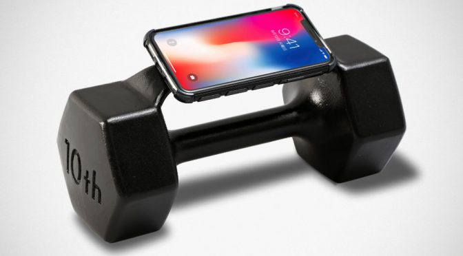 Dumbbell iPhone Case: Answering Calls Has Never Been This Heavy!