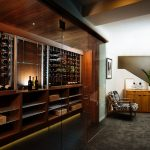 This Custom Northwest Wine Room Oozes With Mid-Century Vibe