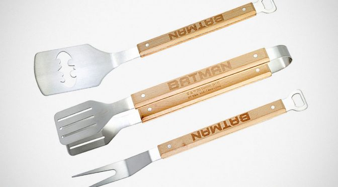 If Superheroes Do BBQ, They Will Probably Use This BBQ Tool Set