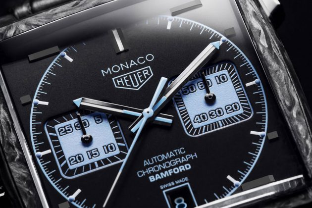 TAG Heuer Monaco Heritage by Bamford Watch Department