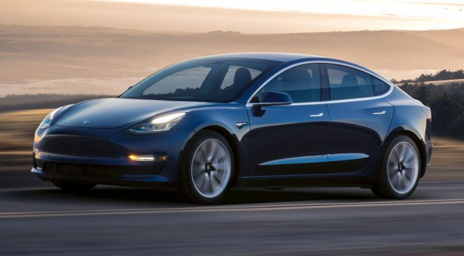 Tesla Model 3 Performance Model