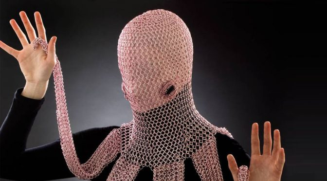 Someone Made A Chainmaille Octopus Hood Because, She Can