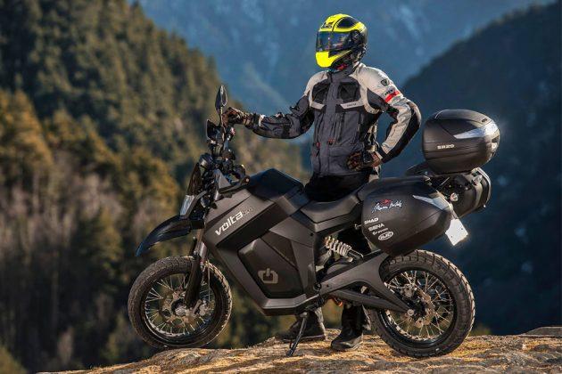 Volta #BCNForest Electric Motorbike