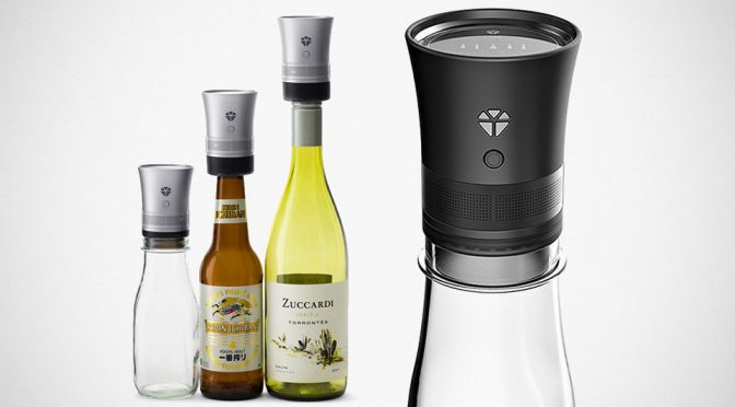 This Bluetooth Speaker Leverages On Bottle To Create Resonance