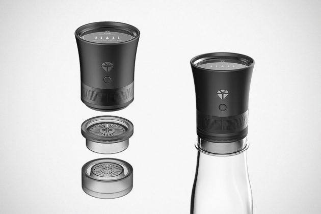 Woori Elec. Cork Speaker Portable Bluetooth Speaker
