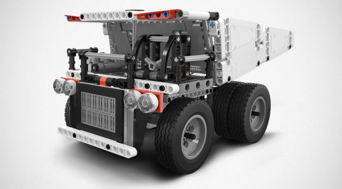 Is This Xiaomi Truck Building Kit A Blatant Copy Of LEGO Technic?