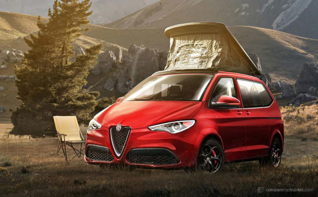 7 Luxury Car Brands Camper Vans - Alfa Romeo