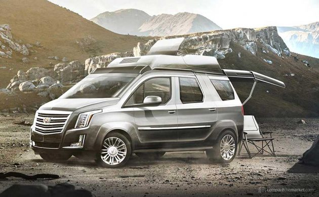 7 Luxury Car Brands Camper Vans - Cadillac