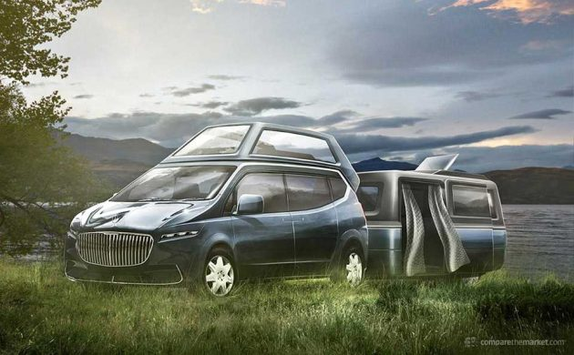 7 Luxury Car Brands Camper Vans - Maybach