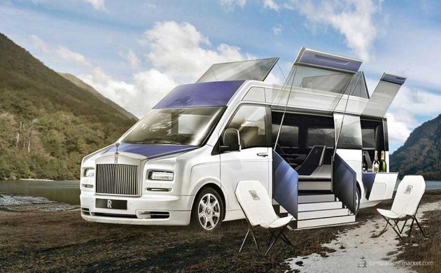 7 Luxury Car Brands Camper Vans - Rolls-Royce