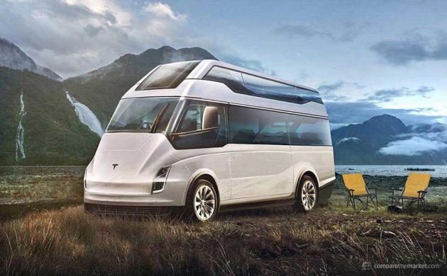 7 Luxury Car Brands Camper Vans - Tesla