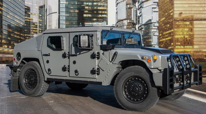 AM General NXT 360 Light Tactical Vehicle