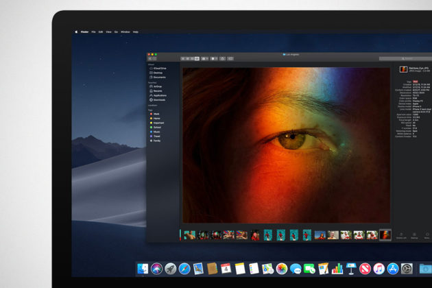 Apple macOS Mojave Dark Mode