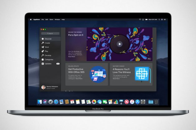 Apple macOS Mojave New Mac App Store