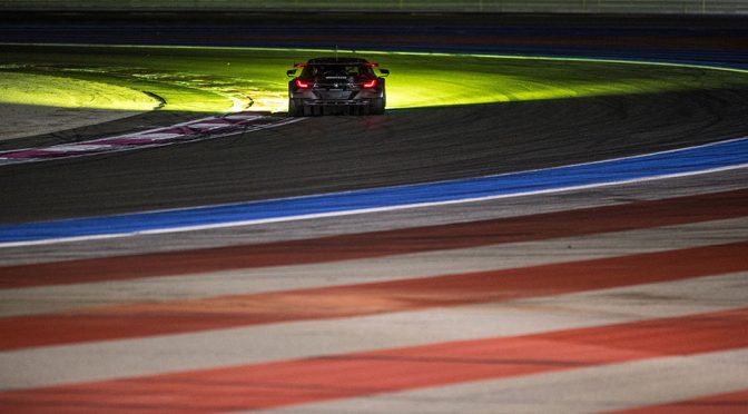 BMW M8 GTE Lights Up Le Mans