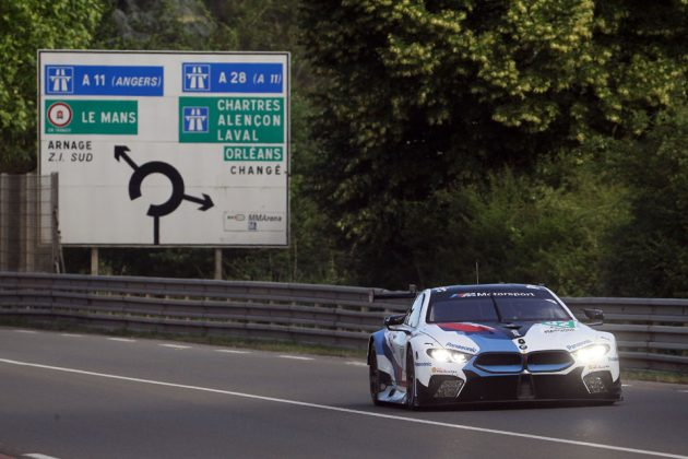 BMW M8 GTE Lights Up Le Mans