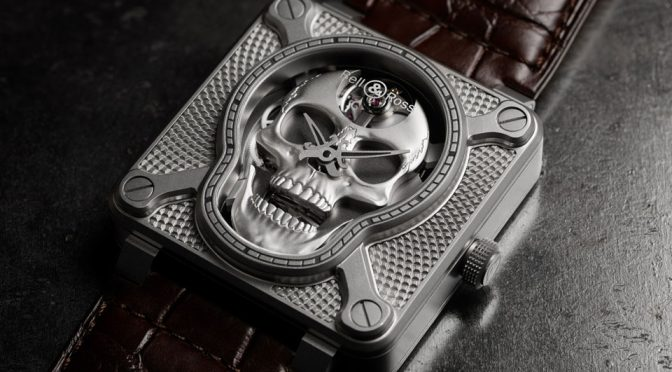 Bell & Ross BR01 Laughing Skull Watch
