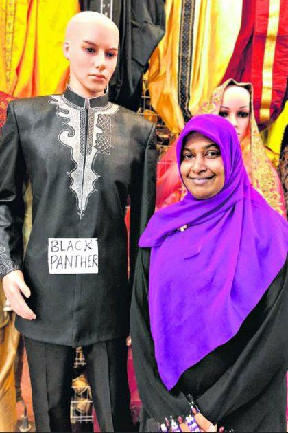Black Panther-inspired Baju Melayu