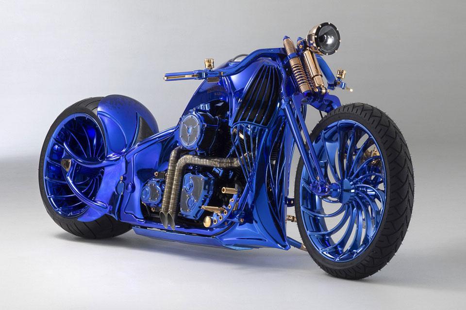 Bucherer x Bündnerbike Blue Edition Harley-Davidson