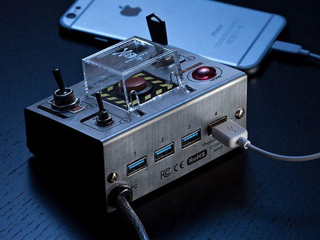 Cube-Works Self-destruct USB 3.0 Hub