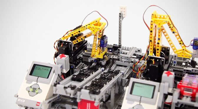 If Minifigures Had A Job, This LEGO Car Factory Will Put Them Out Of Job
