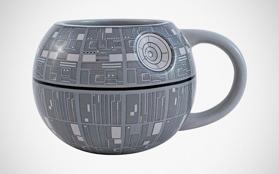 Death Star Sculpted Ceramic Mug