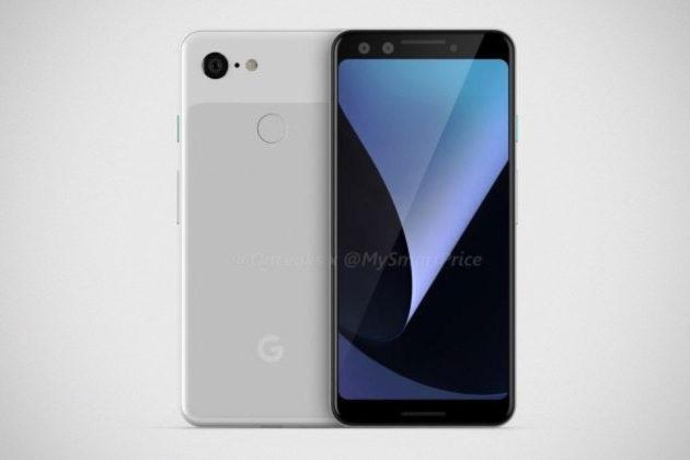 Google Pixel 3 Design Leaks