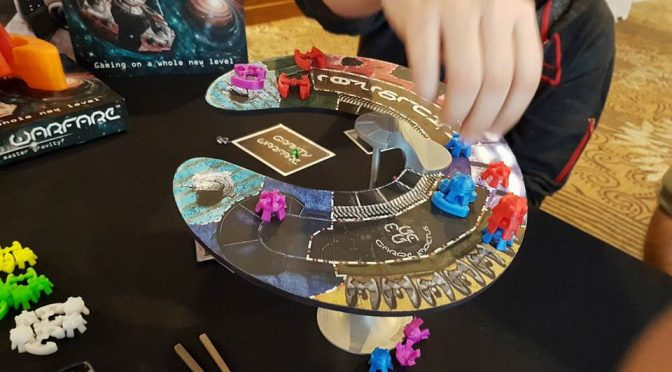 Gravity Warfare Balancing Board Game