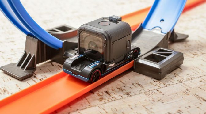 Hot Wheels Zoom In GoPro-compatible Toy Car