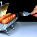 Miniature BBQ Grill May Not Be Practical, But It Sure Looks Like Fun