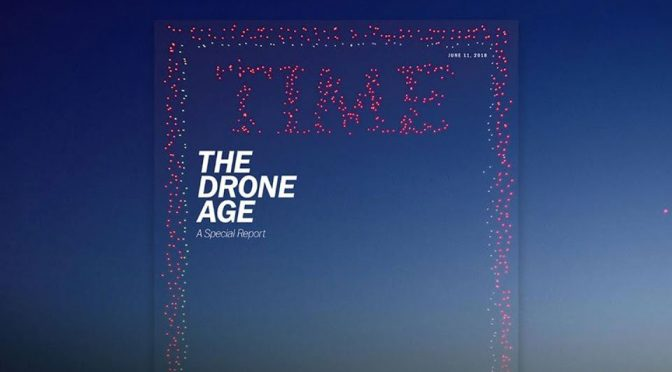 Intel Shooting Star Drones TIME Magazine Cover