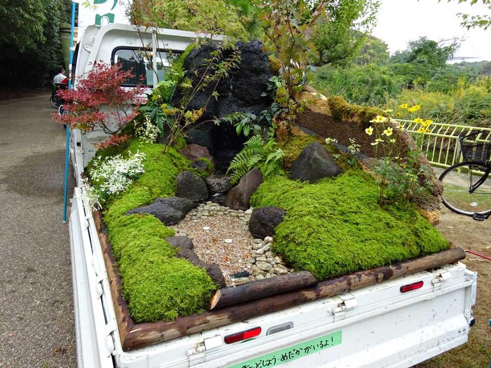 Japan's Kei Truck Landscape Garden Contest