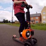 Colin Furze Turns Junior's Skatescooter Into A Jet Powered Ride