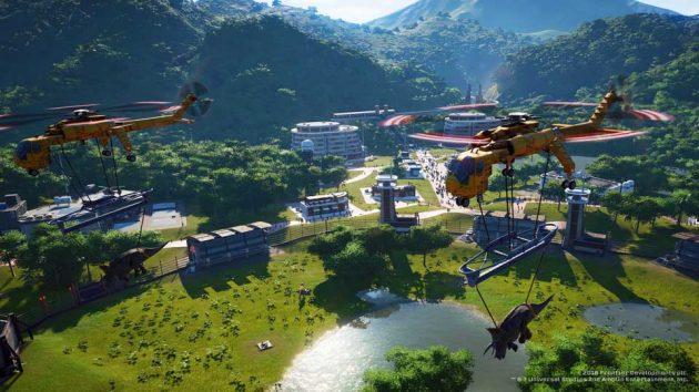 Jurassic World Evolution Video Game