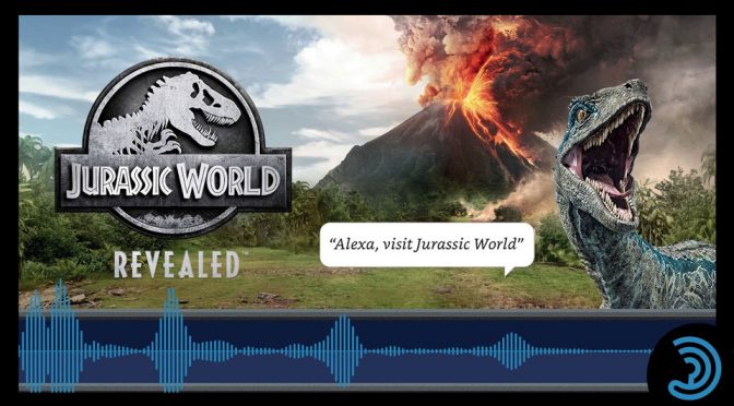 Jurassic World Revealed Alexa Skill Game