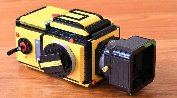 With Your Help, This LEGO Hasselblad 503CX Could Become A Real LEGO Set