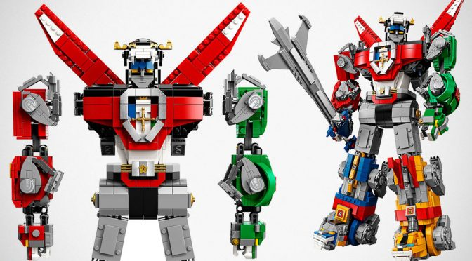 LEGO Ideas 21311 Voltron Set