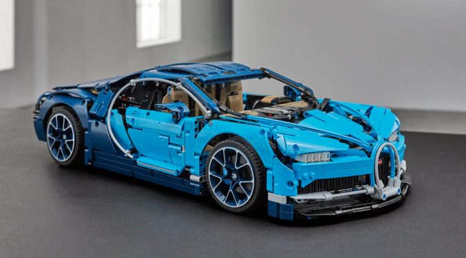 LEGO Technic Bugatti Chiron Is Official, Has Working 8-Speed Gearbox!