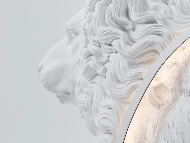 Lion X Floor Light by Haoshi Design