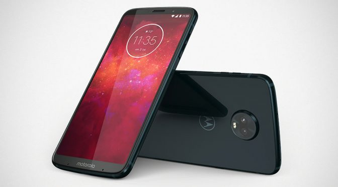 Motorola Pushes On With Modularity With New Moto Z<sup>3</sup> Play