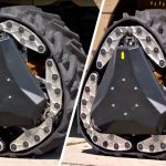 This New Kind Of Wheel Can Transform From Round Wheel Into A Track In 2s