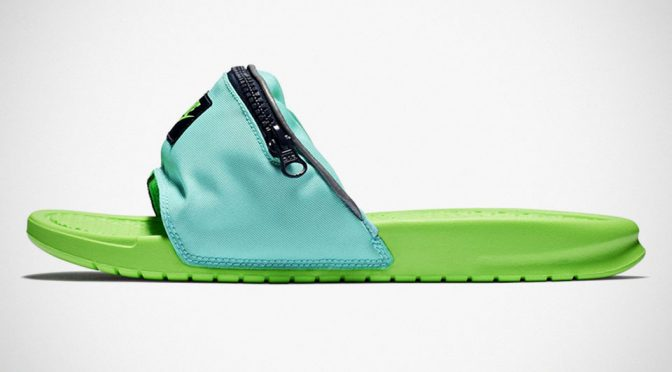 Oh, Look. Nike Have Stuck A Waist Bag Onto A Pair Of Benassi Slides