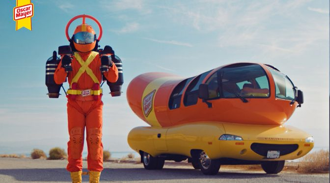 Oscar Mayer Super Hotdogger Jetpack And The Weird And Wonderful World Of Wienerfleet