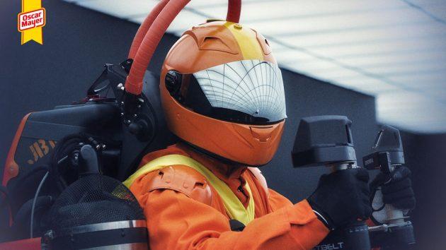 Oscar Mayer Super Hotdogger Jetpack