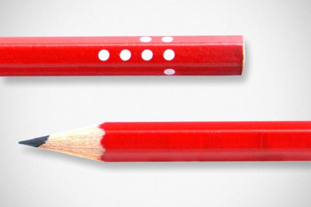 Pencil Dice by Sebastian Bergne