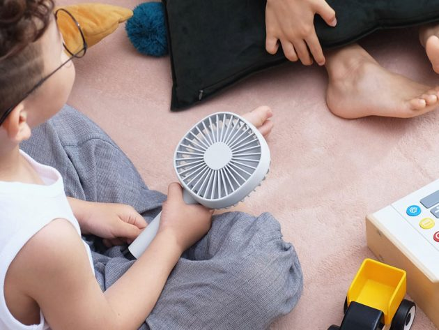 Pet Desk and Portable Hybrid Fan by MUID